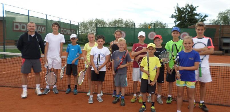 Letní tenisové příměstské tábory srpen 2019