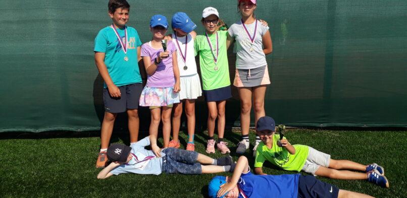 Zhodnocení letních tenisových kempů